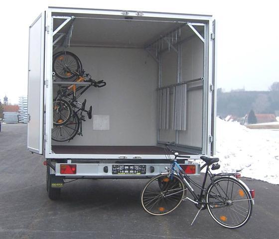 fahrradtransport anh nger pk spezial und sonderanh nger. Black Bedroom Furniture Sets. Home Design Ideas